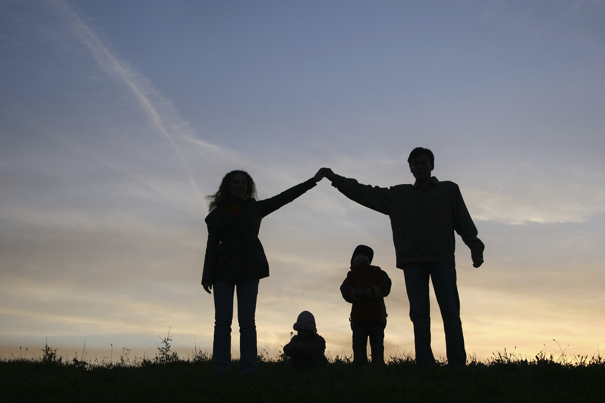 family-silhouette